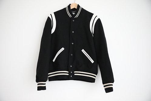 Saint Laurent Paris Classic Wool Teddy Jacket