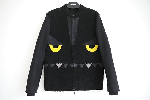 Fendi Monster Shearling Wool Jacket