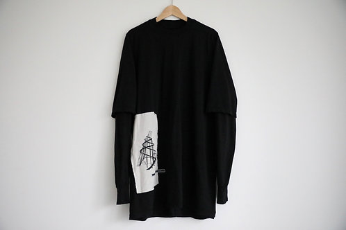 DRKSHDW by Rick Owens loose-fit double layers Sweatshirt