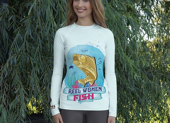 Reel Women Fish Women's Rash Guard