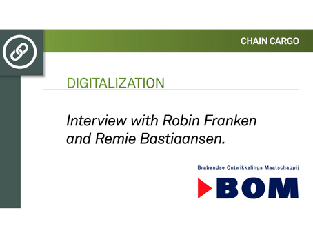 Digital transformation: Interview with Robin and Remie from BOM