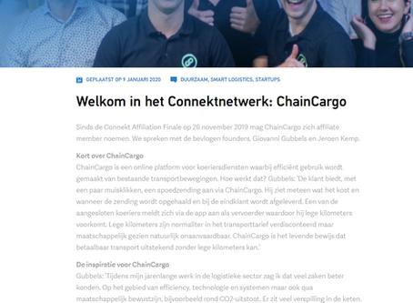 ChainCargo nu ook onderdeel van het  Connektnetwerk