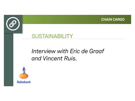 Importance of Sustainability: Interview with Eric and Vincent from Rabobank