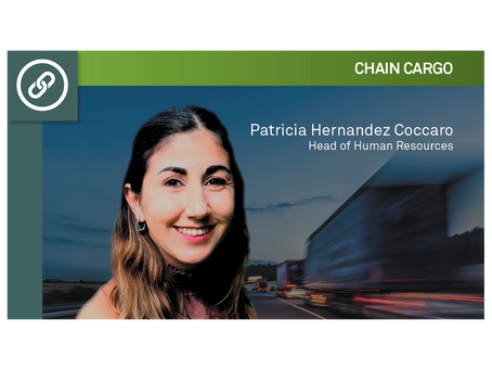 Interview with Patricia Hernández Cóccaro, Head of Human Resources at ChainCargo