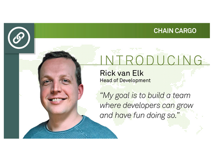 Lead Developer verlaat tech gigant TomTom voor transport start-up ChainCargo