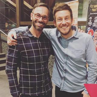 Just a couple comedians