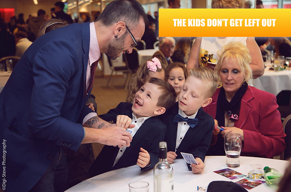 magician hire weddings