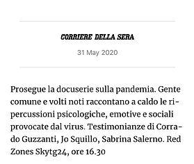 Corriere della Sera 31 maggio 2020 x sel