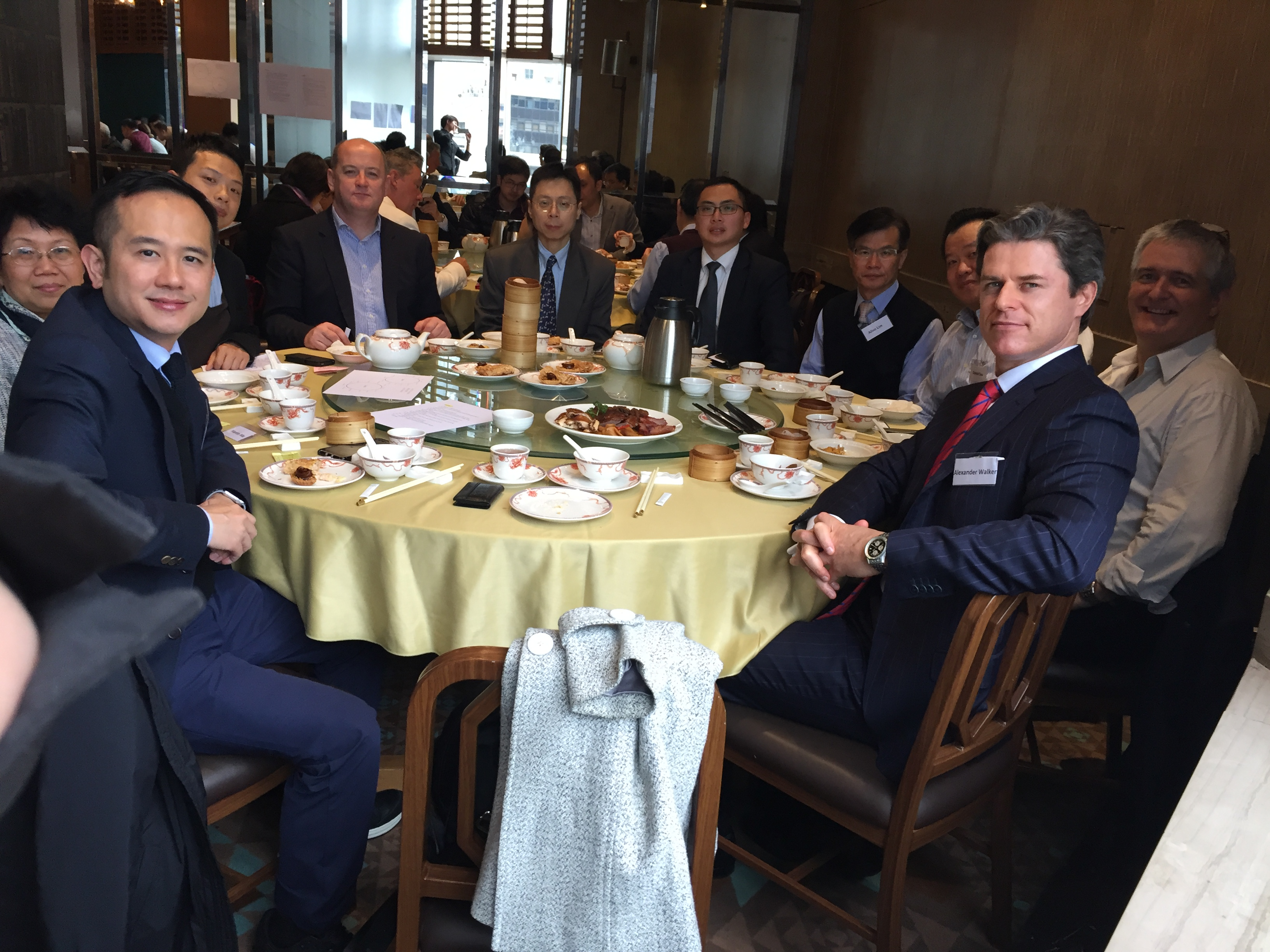 FEB 2017 CEO LUNCH - Table 2
