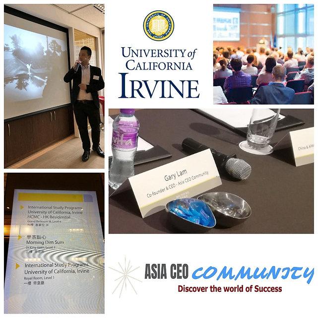 ASIA CEO COMMUNITY & UNIVERSITY OF CALIFORNIA IRVINE