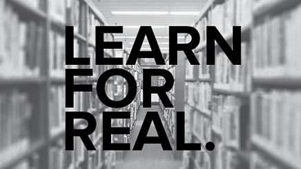 LEARN FOR REAL
