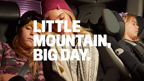 LITTLE MOUNTAIN, BIG DAY.