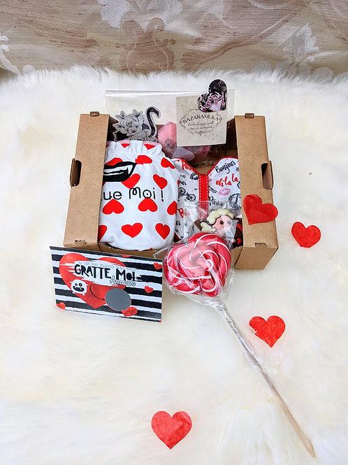 Box des Z'Amoureux, Croque Moi ! + Fondant Cerise Noire