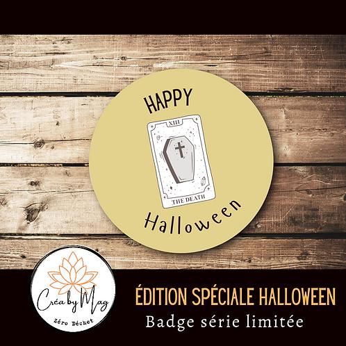 Badge Halloween motif Tarot