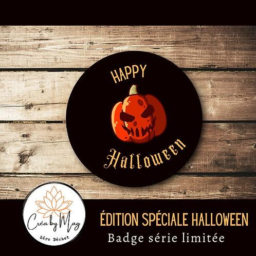 Badge Halloween motif Pumkin
