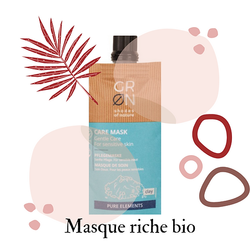 Masque visage - Algue & Sel