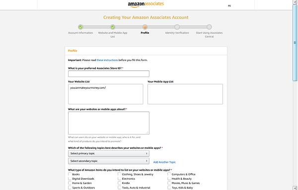 Amazon Associates 6