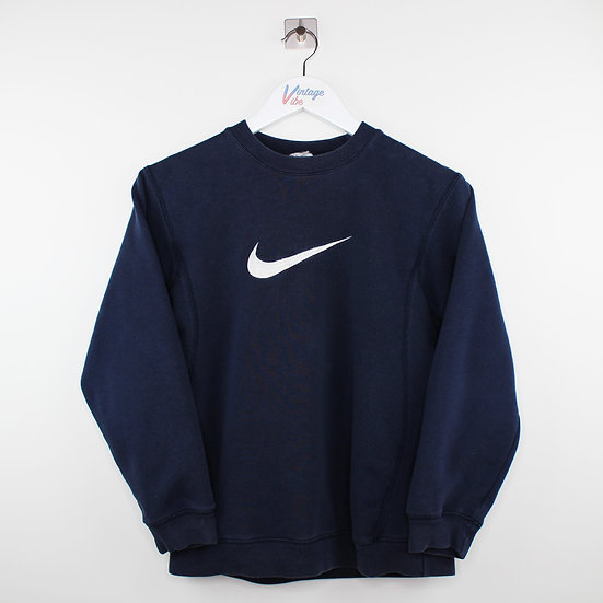 Nike Swoosh Vintage Sweatshirt dunkelblau - XS