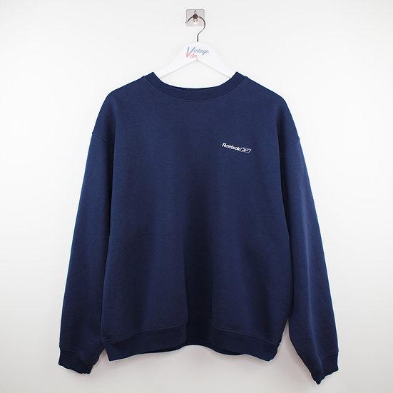 Reebok Vintage Sweatshirt dunkelblau - L
