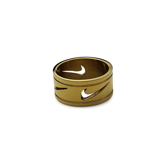 Swoosh Ring - Punch out Swoosh