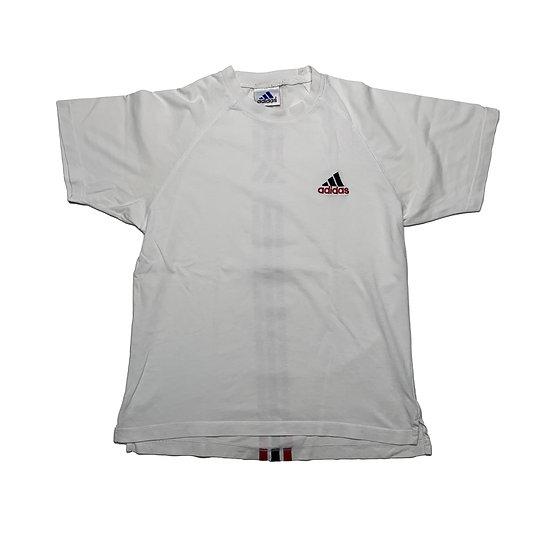 Adidas Vintage T-Shirt weiß - S