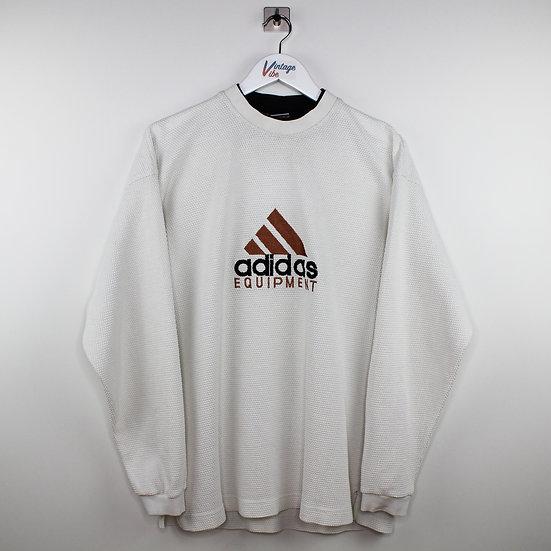 Adidas Equipment Vintage Sweatshirt weiß - XL