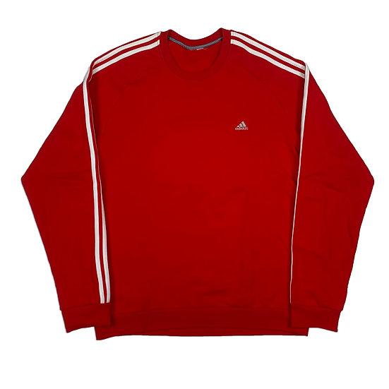 Adidas Vintage Sweatshirt rot - XL