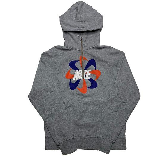 Nike Spellout Vintage Halfzip Hoodie grau - M
