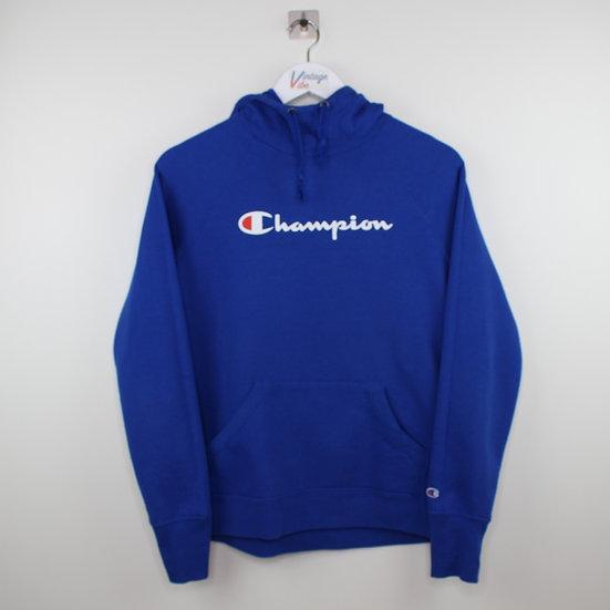 Champion Vintage Hoodie blau - S