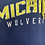 Thumbnail: Adidas Pro Sport Hoodie dunkelblau / gelb - M