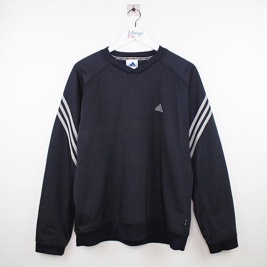 Adidas Vintage Sweatshirt dunkelblau - L