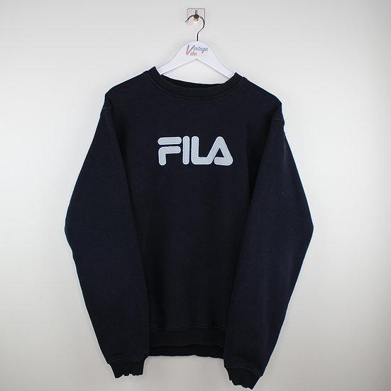 Fila Spellout Vintage Sweatshirt schwarz - XXL