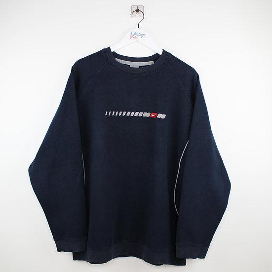 Nike Vintage Sweatshirt dunkelblau - XL