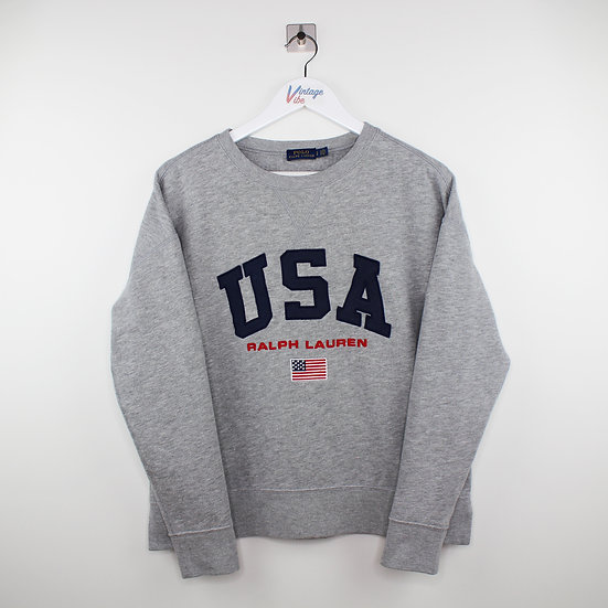 Ralph Lauren Sweatshirt grau - S