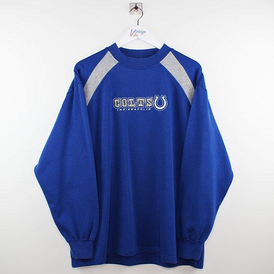 NFL Pro Sport Sweatshirt blau / grau - XL