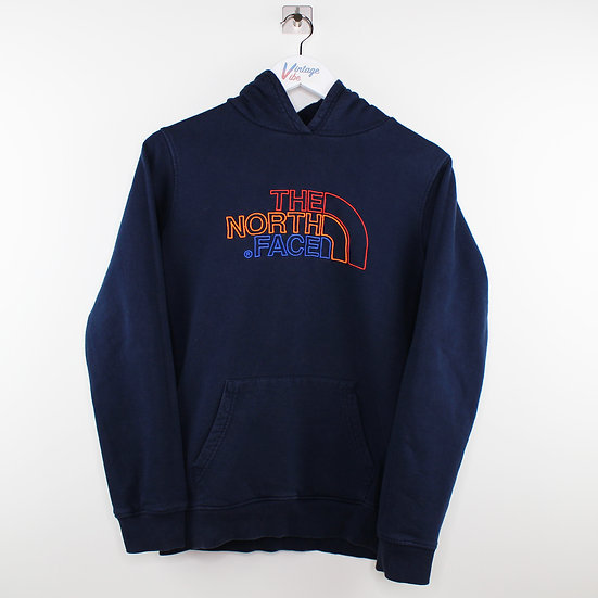 The North Face Hoodie dunkelblau - S