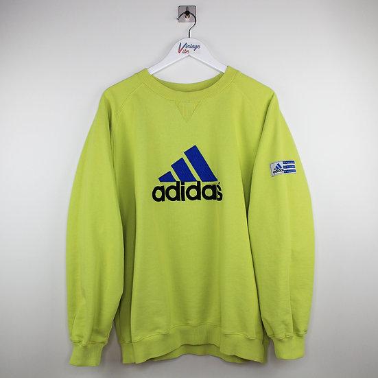 Adidas Spellout Vintage Sweatshirt grün - L