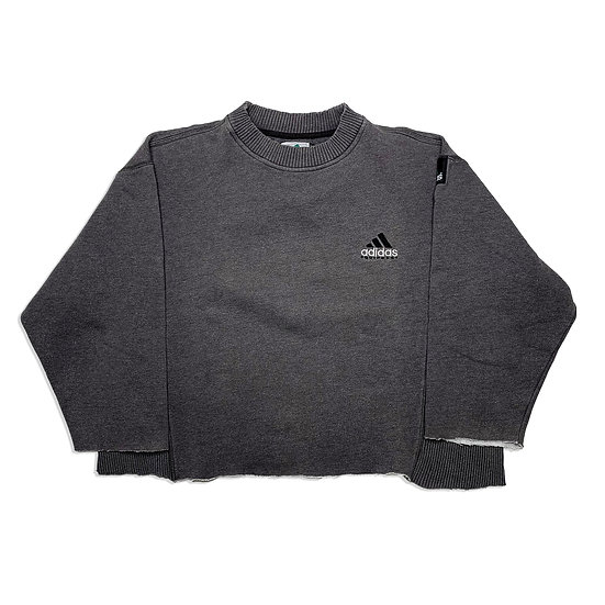 Adidas Equipment Vintage Cropped Sweatshirt grau - M