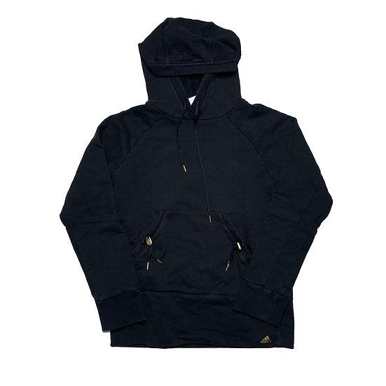 Adidas Hoodie schwarz - S