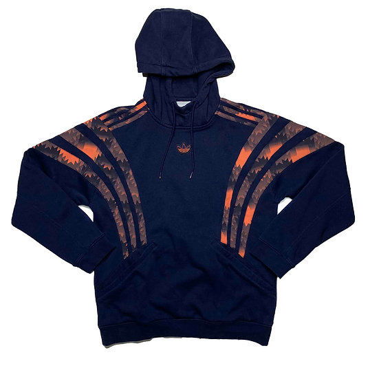Adidas Hoodie blau / orange - XS