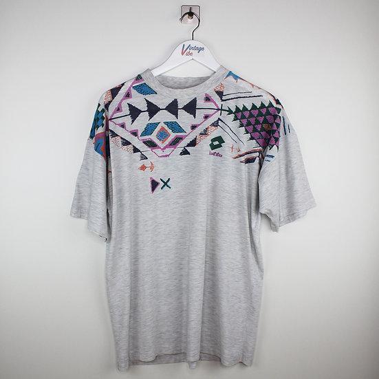 Lotto Vintage T-Shirt grau - XXL