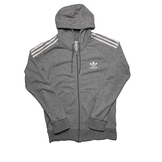 Adidas Sweatshirt Jacke grau - M