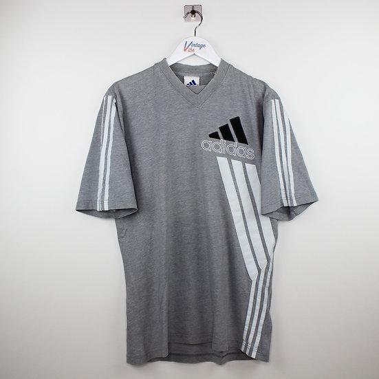 Adidas Logo Vintage T-Shirt grau - M