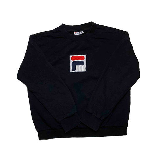 Fila Sweatshirt schwarz - L