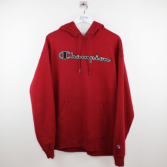 Champion Vintage Hoodie burgunder - XL