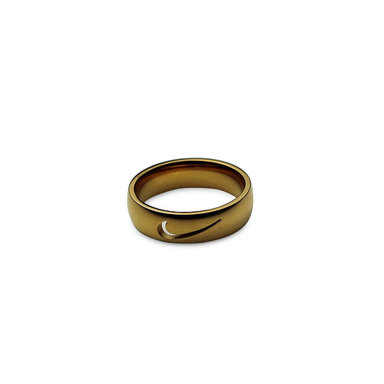 Swoosh Ring - Single Punch Out Swoosh