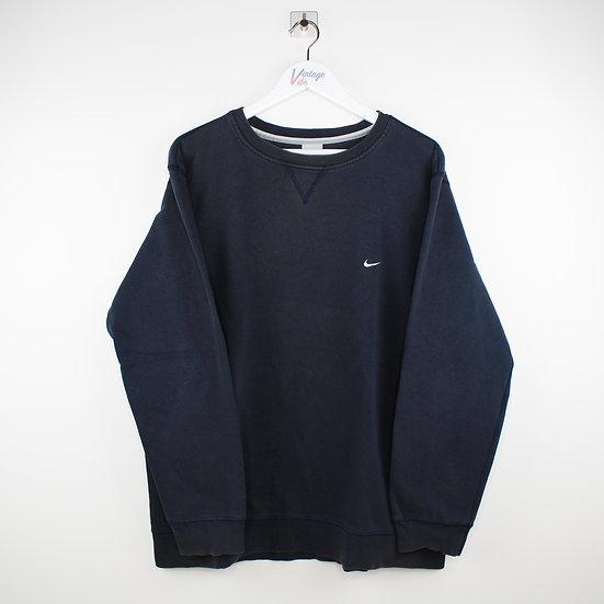 Nike Vintage Sweatshirt dunkelblau - L