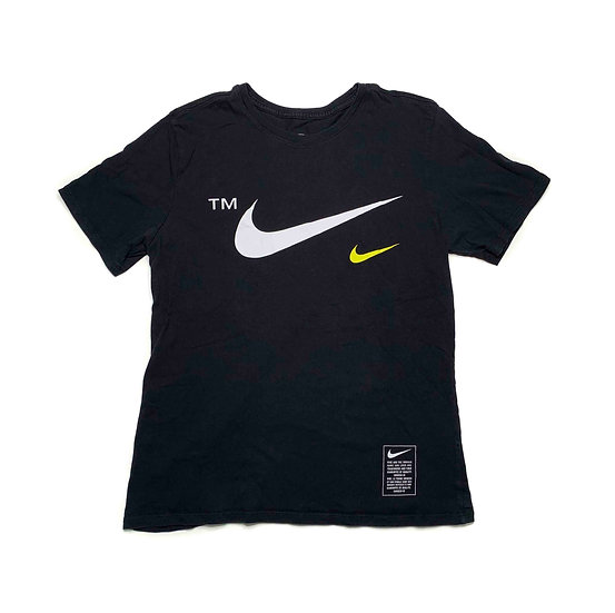 Nike Swoosh T-Shirt schwarz - L