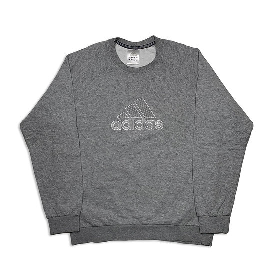 Adidas Spellout Sweatshirt grau - M