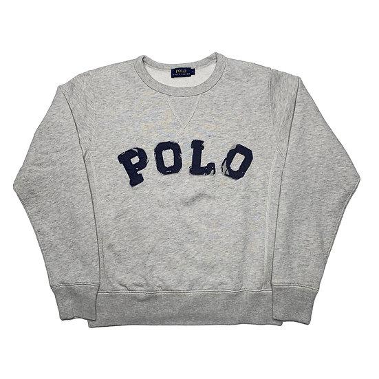 Ralph Lauren Spellout Sweatshirt grau - S